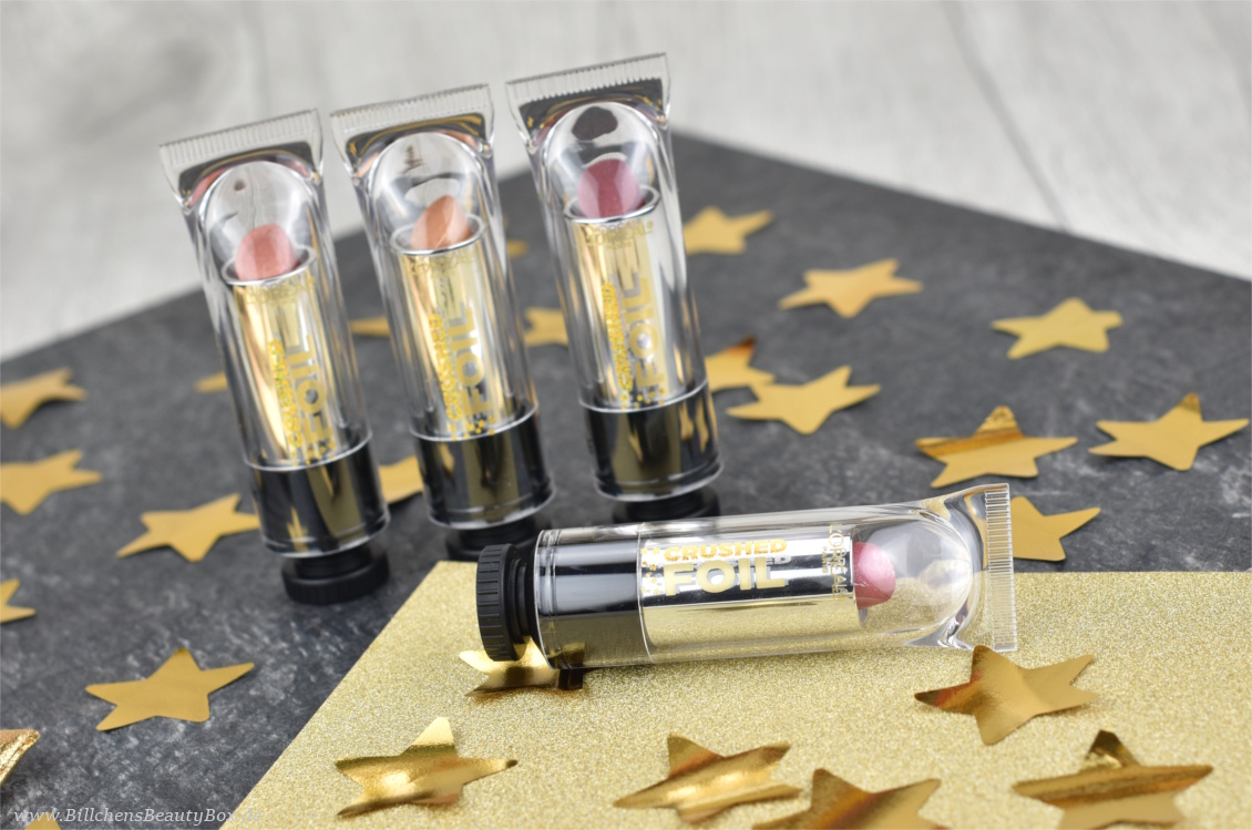 L'Oréal - Hot à Paris Crushed Foil Limited Edition Lippenstift - Review und Swatches
