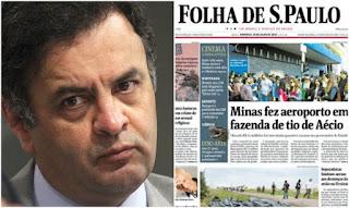 Acima da lei: MP de Minas arquiva denúncia sobre aeroporto de Aécio Neves em Cláudio
