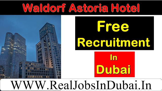 Hotel Jobs In Dubai | Waldorf Astoria DIFC Careers|
