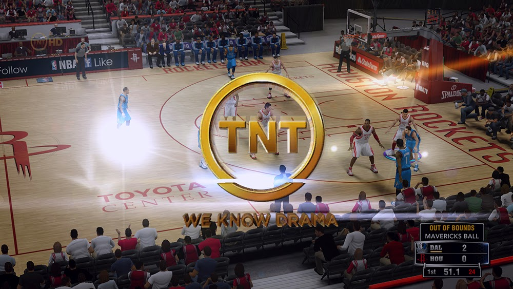 NBA 2K14 TNT Watermark Logo & Wipe Patch - NBA2K ORG