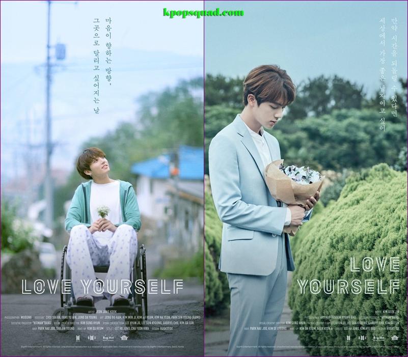Ternyata Iniloh Arti Bunga Di Foto Teaser Love Yourself Kpop