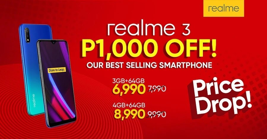 Price Drop Alert! Realme 3 Now Php1000 More Affordable