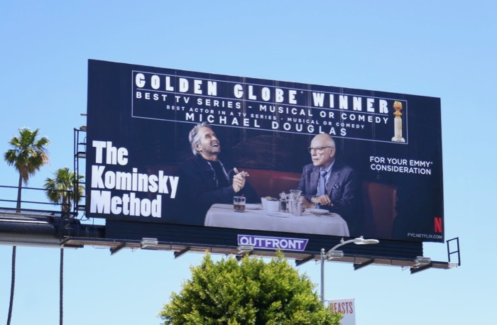 Kominsky Method 2019 Emmy FYC billboard