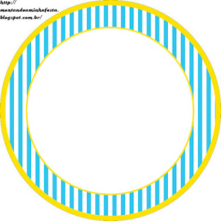 Blue and Yellow Toppers or Free Printable Candy Bar Labels.