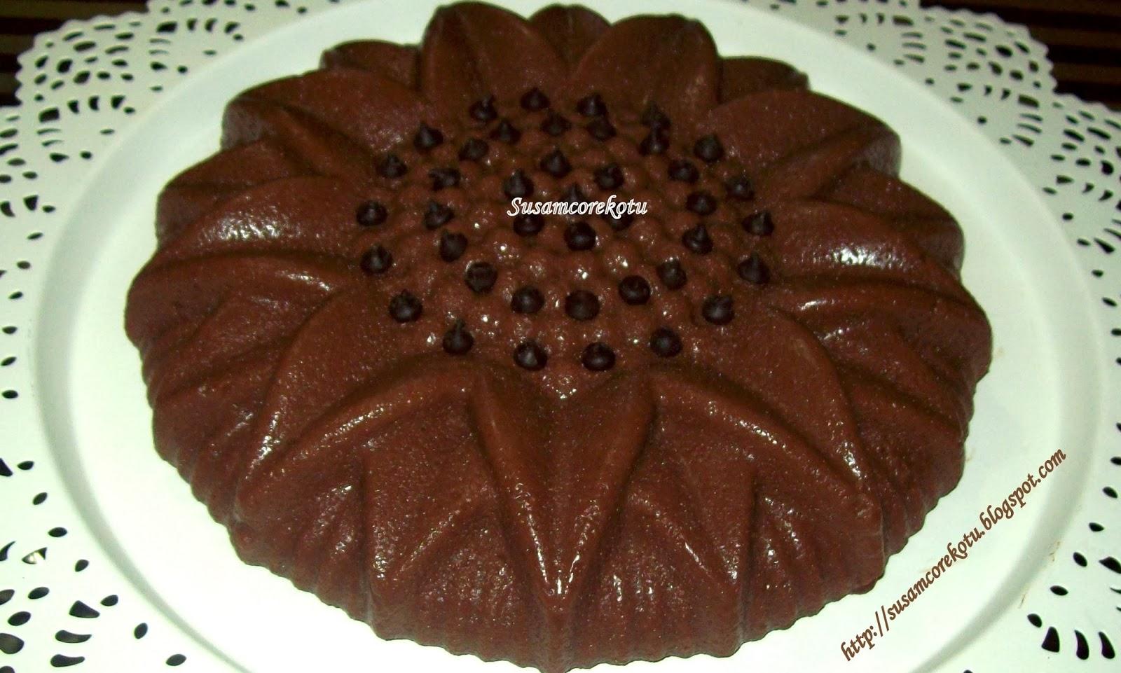 Kolay Tatlı Tarifi (Bitter Çikolatalı)