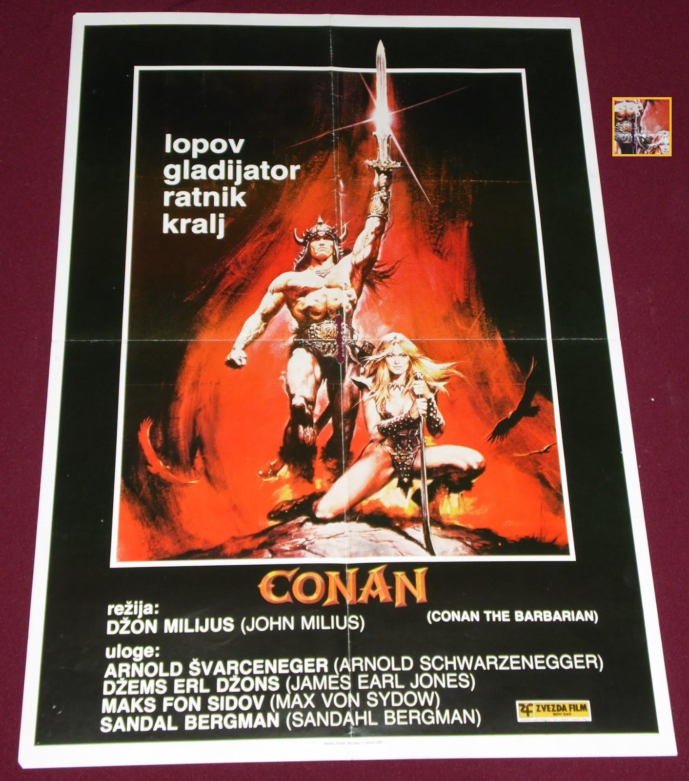 YugoRare Movie Posters: Conan The Barbarian (1982
