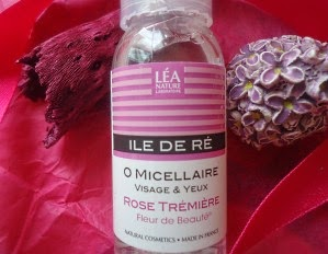 L'eau micéllaire d'île de Ré, la nouvelle marque de Léa Nature