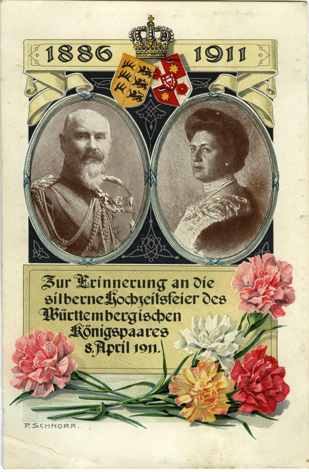 BILDERTANZ Vor 100 Jahren Silberne Hochzeit des Knigpaars