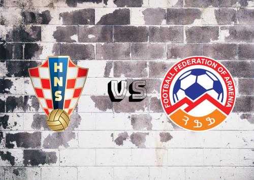 Croacia vs Armenia  Resumen