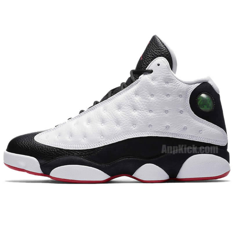 040b031520583f AnpKick Brand Street Footwear  Air Jordan 13  He Got Game  2018 Black And White  Outfit For Sale 414571-104