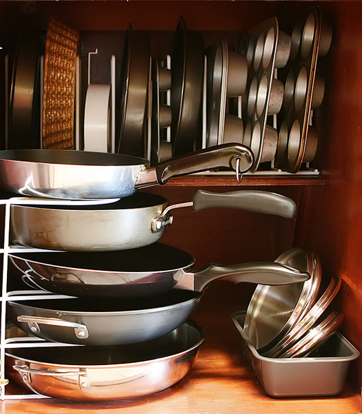 Pots And Pans Storage Ideas To Take Note Of: DC Sweet Treats: {Picture Perfect Organization Ideas}