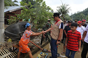 Tinjau Lokasi Banjir Bandang di Bolmut, Wagub Kandouw: Rumah Rusak Berat Kita Bangun Baru