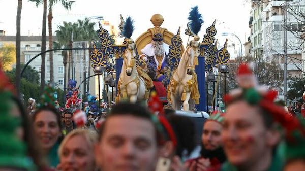 Horario y recorrido de la cabalgata de Reyes Magos de Cádiz 2020