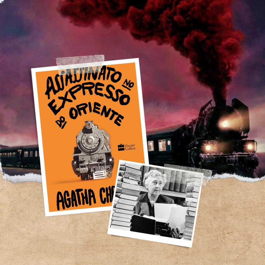 Assassinato no Expresso do Oriente livro de Agatha Christie