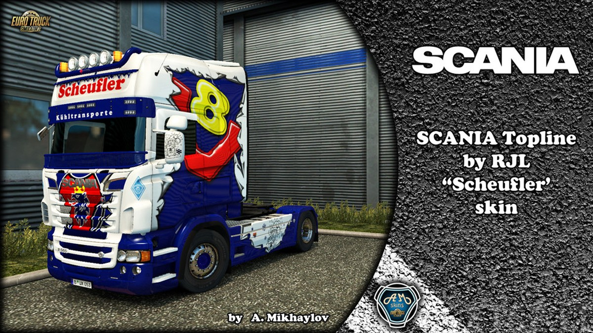 Scania RJL Scheufler Skin