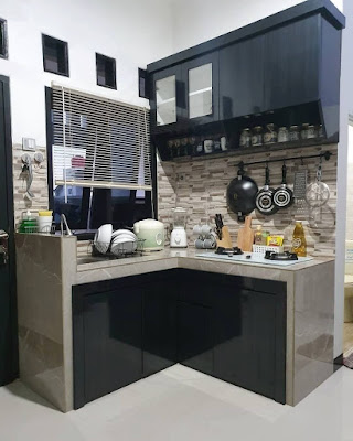 Desain dapur minimalis 2x2  ruangan sempit