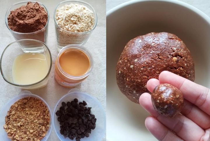 Bahan-Bahan Membuat Choco Ball