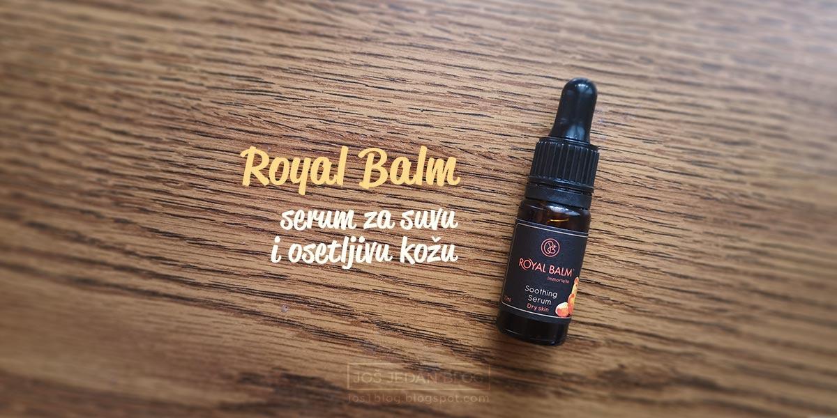 Royal Balm prirodna kozmetika, ulje za negu suve i osetljive koze, serum za suvu kožu, serum za osetljivu kožu, recenzija, blog