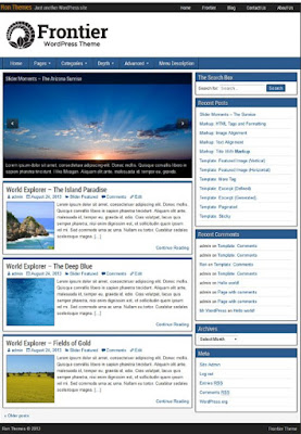 Template Blog Wordpress Terbaik Pilihan Para Suhu