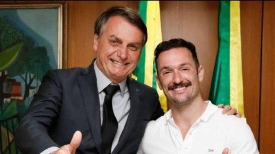 Hypolito atacado nas redes sociais após foto com Bolsonaro