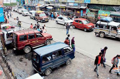 Motor Stand in Darjeeling