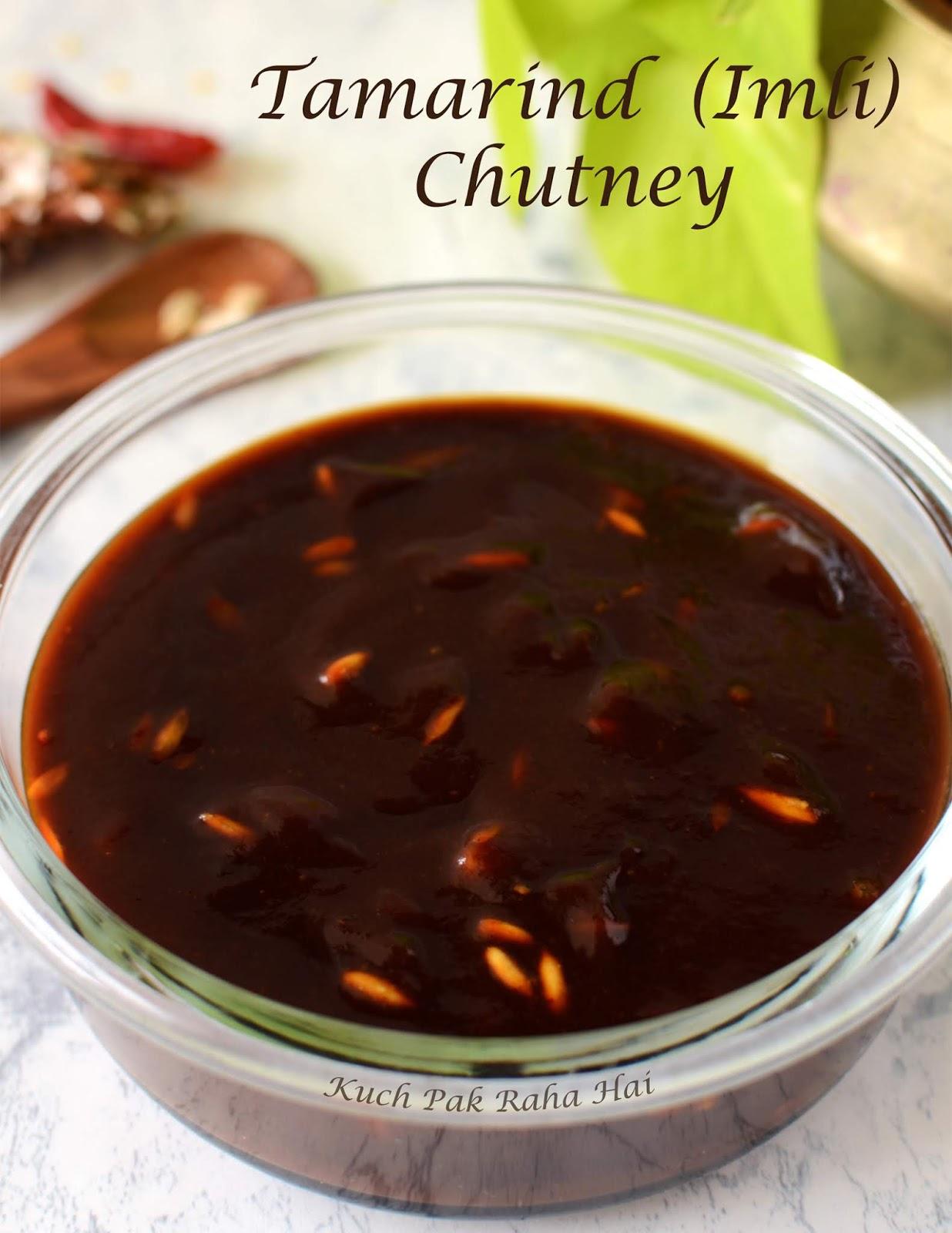 Tamarind Imli Gur chutney