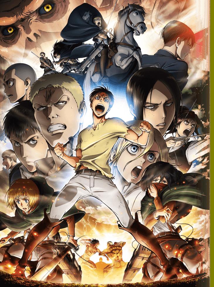Imagen promocional de la nueva temporada de Shingeki no Kyojin