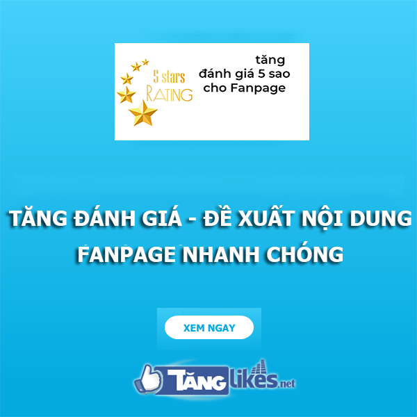 tang danh gia fanpage