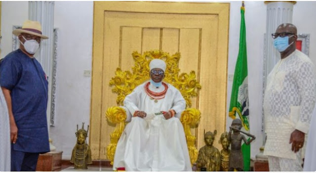 Don't control Obaseki, Oba of Benin warns PDP leaders