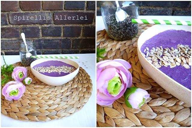 Spirellis Allerlei - schnelles Frühstück mit Smoothie Bowl