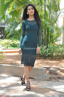 Simran Choudhary Cute beauty with dimples in transparent Green Tight Short Dress ~  Exclusive 004.jpg