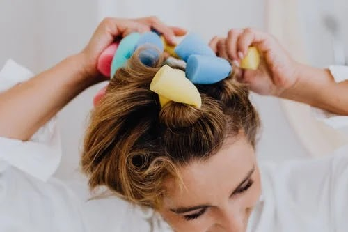 The curlers for a perfect style