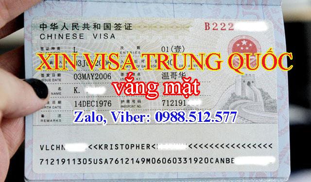 Làm sao để xin visa đi Trung Quốc, Hong Kong vắng mặt ở tỉnh khác