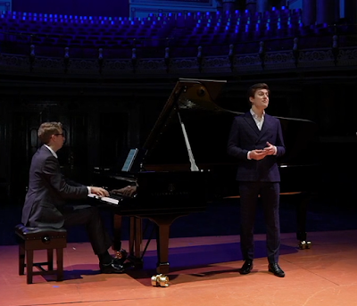 Leeds Lieder - Ian Tindale, Laurence Kilsby - Leeds Town Hall (taken from live stream)