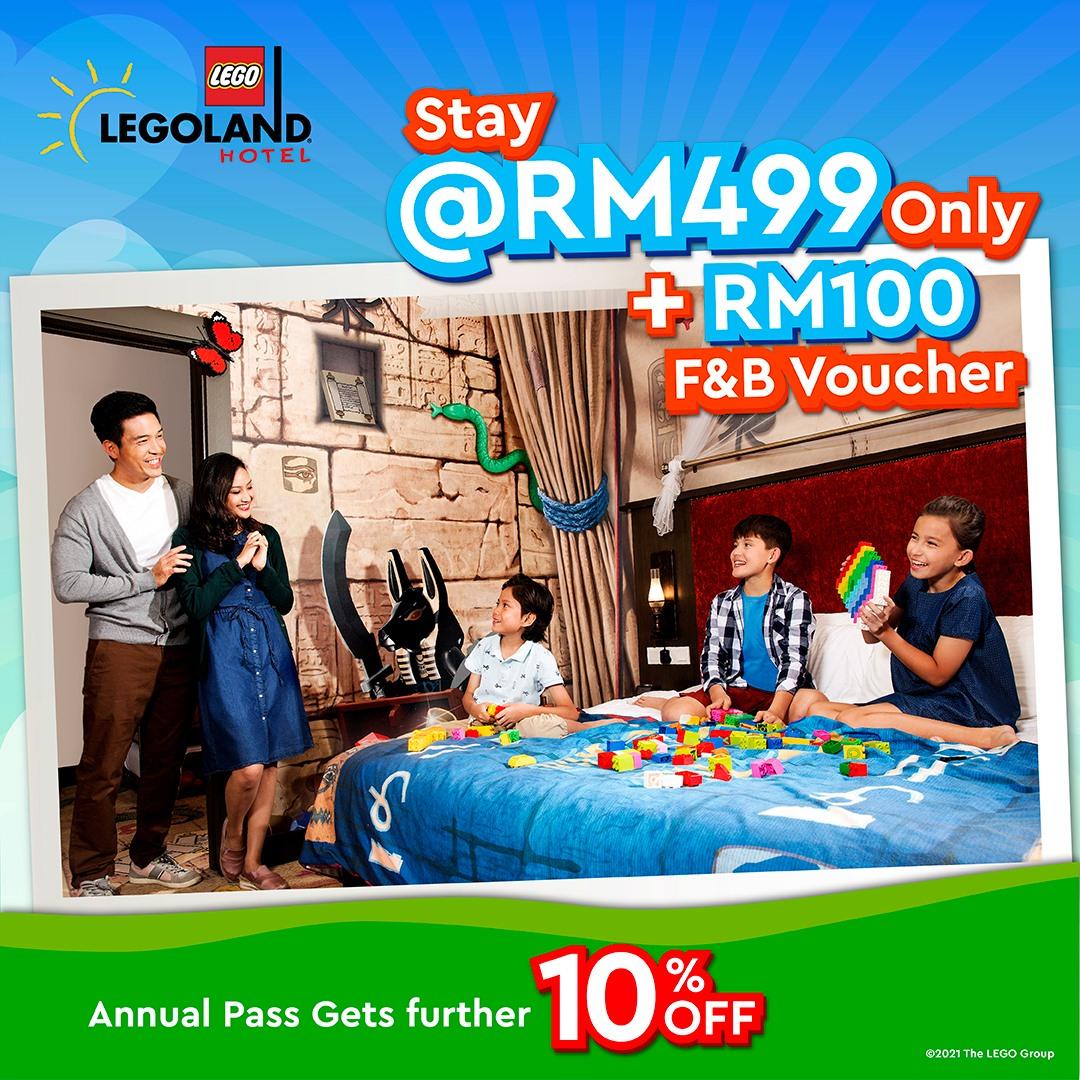 LEGOLAND Hotel Malaysia Mula Dibuka 30 September 2021