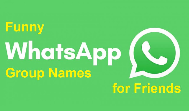 150+ Funny WhatsApp Group Names for Friends
