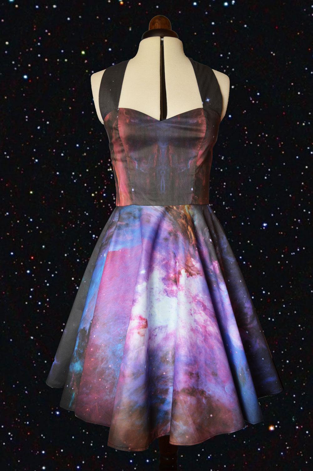 Cyanide Kiss Galaxy dress