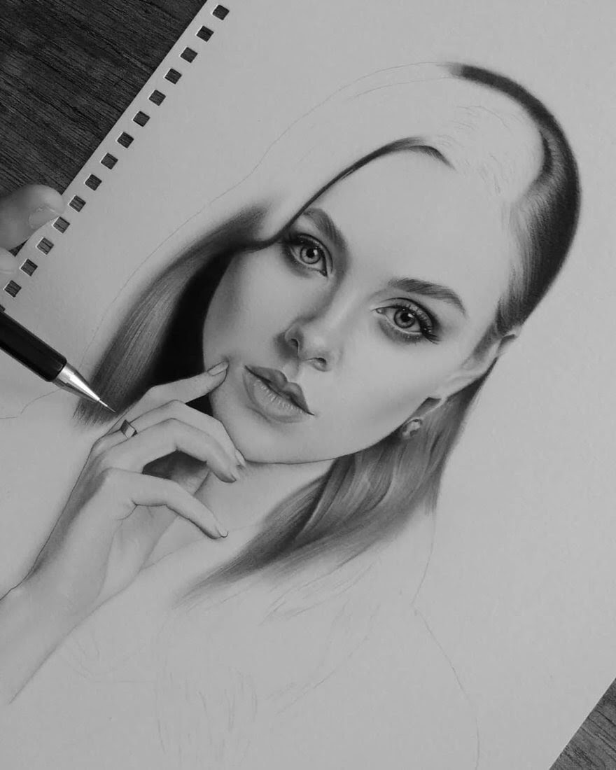 11-D-Ponjavić-WIP-Pencil-Portrait-Drawings-www-designstack-co