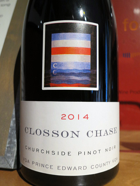 Closson Chase Churchside Pinot Noir 2014 (91 pts)