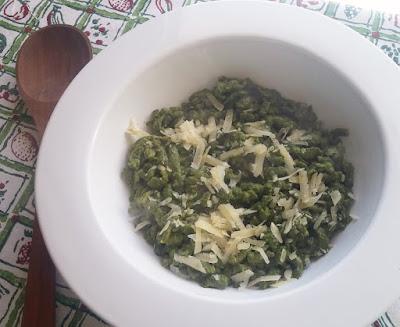 Spinach Spaetzle