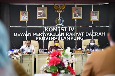 Komisi IV DPRD Lampung Soroti Proyek Embung Golf Sukarame