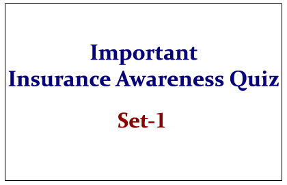 Insurance Awareness Quiz
