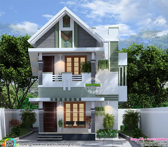 Very cute small Kerala home deisgn