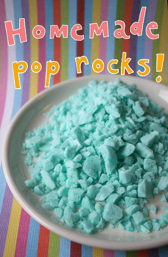 HOMEMADE POP ROCKS RECIPE