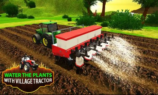 Tractor Driving Simulation Mania