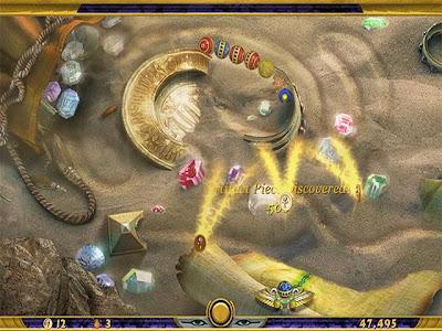 好玩經典遊戲,埃及祖瑪4之探索永恆Zuma Luxor 4-Quest for the Afterlife 綠色免安裝版!