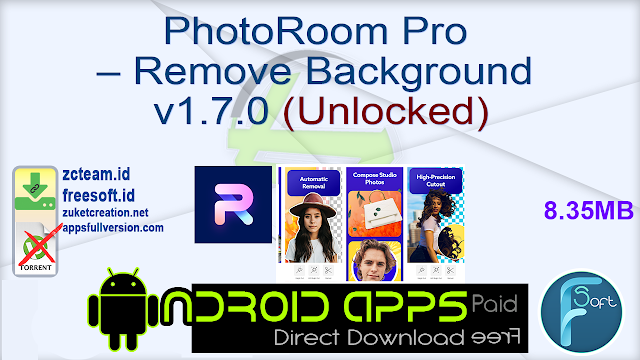 PhotoRoom Pro – Remove Background v1.7.0 (Unlocked)