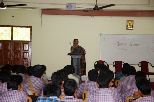 Guest Lecture by Dr. G. Anitha
