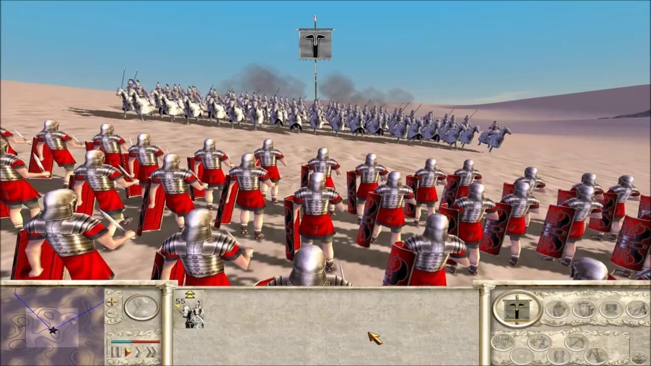 تحميل لعبة 1 rome total war مجانا