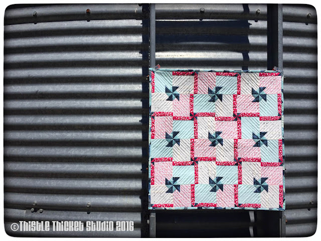 Thistle Thicket Studio, Whirl & Twirl quilt, free quilt block tutorial